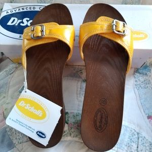 NWT Dr Scholl's Sandals Vintage Style Size 10